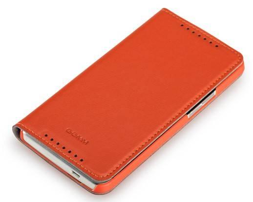Чехол (флип-кейс) GGMM Kiss-H1 оранжевый - фото 4
