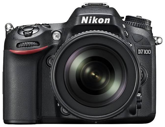 Фотоаппарат Nikon D7100 1 объектив черный - фото 1