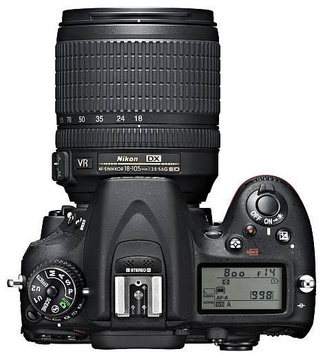 Фотоаппарат Nikon D7100 1 объектив черный - фото 3