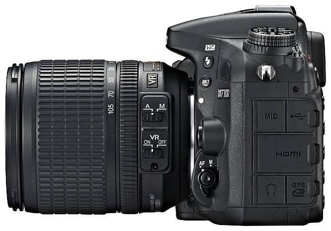 Фотоаппарат Nikon D7100 1 объектив черный - фото 4