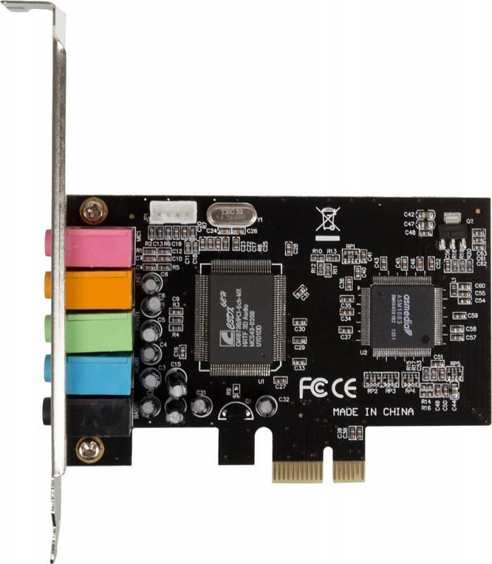 Звуковая карта PCI-E 8738 (ASIA PCIE 8738 6C) - фото 1