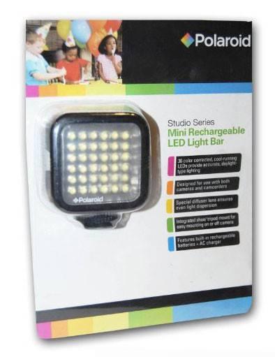 Фотовспышка Polaroid PL-LED18 (постоянный свет) - фото 3