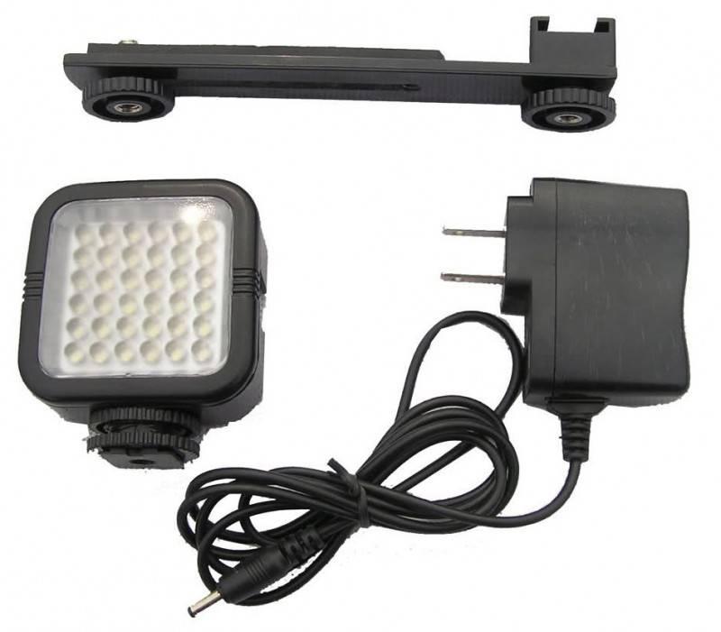 Фотовспышка Polaroid PL-LED18 (постоянный свет) - фото 1