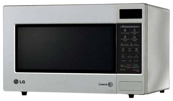 СВЧ-печь LG MB4063AL серебристый - фото 1