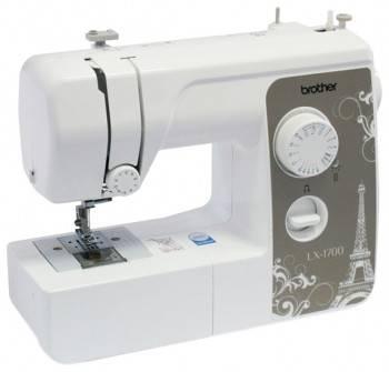 Швейная машина Brother LX 1700s белый