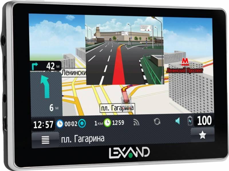"GPS-навигатор Lexand SA5 5"" черный - фото 1"