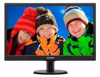 """Монитор 19.5"""" Philips 203V5LSB26 (10/62) черный (203V5LSB26/10)"""