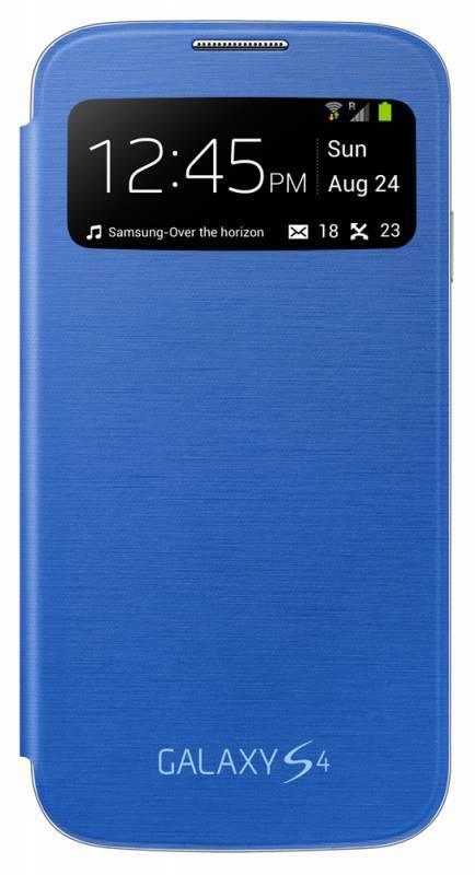 Чехол (флип-кейс) Samsung S-View, EF-CI950BCE голубой - фото 1