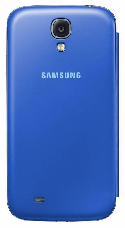 Чехол (флип-кейс) Samsung S-View, EF-CI950BCE голубой - фото 2