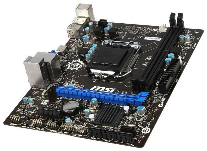 Материнская плата Soc-1150 MSI B85M-E33 mATX - фото 3