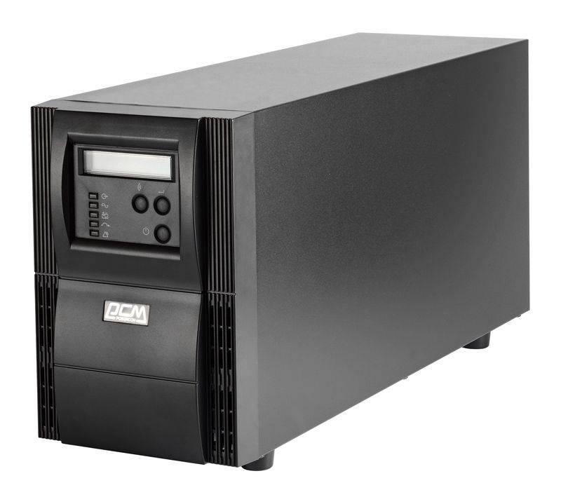 ИБП Powercom Vanguard VGS-1000XL черный - фото 1