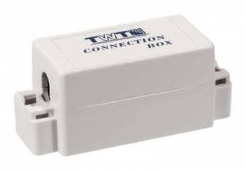 Адаптер Lanmaster TWT-CN110UTP5E проходной кат.5E бел. (упак.:1шт)