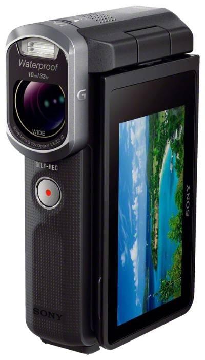 Видеокамера Sony HDR-GW66E черный - фото 3