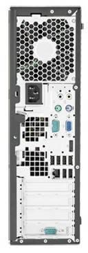 Системный блок HP Pro 6300 SFF черный - фото 4
