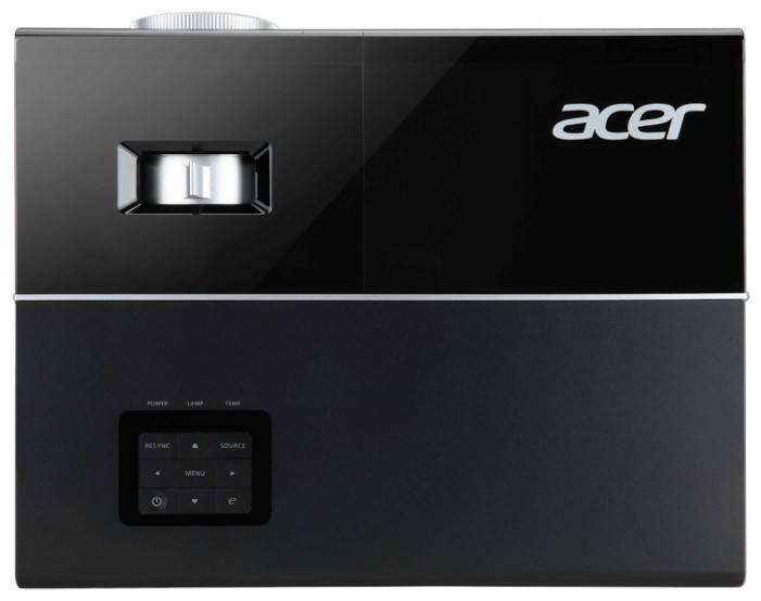 Проектор Acer P1273 черный - фото 4