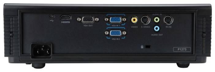Проектор Acer P1273 черный - фото 5