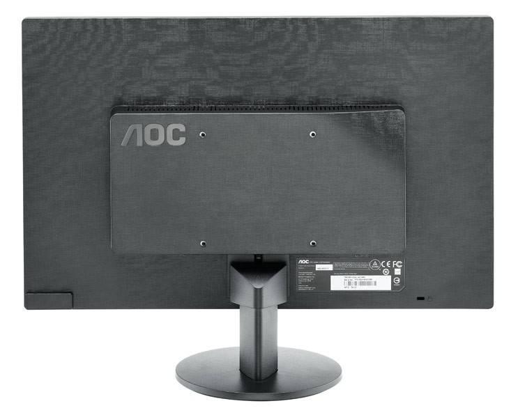 """Монитор 19.5"""" AOC Value Line e2070Swn/01 черный - фото 2"""