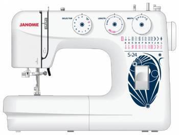 Швейная машина Janome S-24 белый