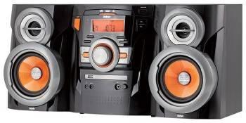 Минисистема BBK AMS105U черный / оранжевый