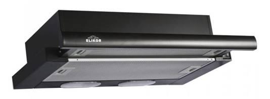 Встраиваемая вытяжка Elikor Интегра 60П-400-В2Л черный (КВ II М-400-60-260) - фото 1