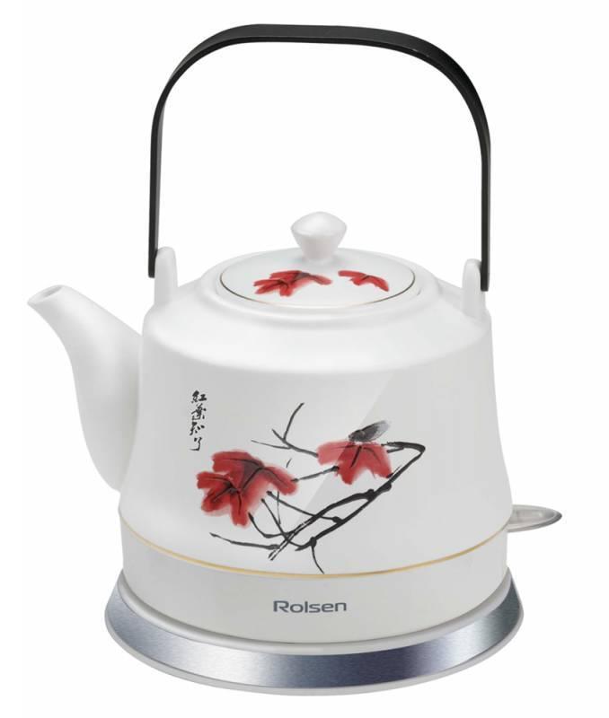 Чайник Rolsen RK-1050CR белый - фото 1