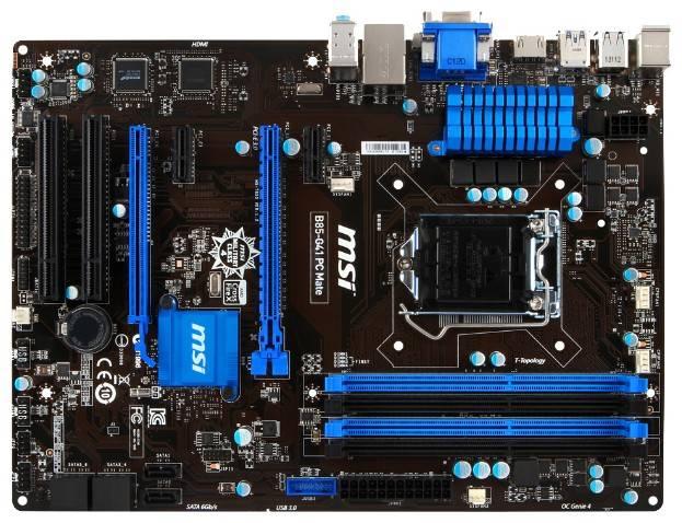 Материнская плата Soc-1150 MSI B85-G41 PC Mate ATX - фото 1