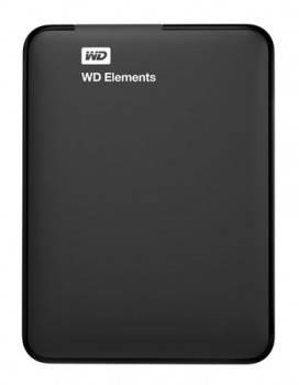 Внешний жесткий диск 500Gb WD WDBUZG5000ABK-EESN Elements Portable черный USB 3.0