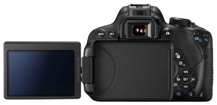 Фотоаппарат Canon EOS 700D черный, 1 объектив EF-S 18-135mm f/3.5-5.6 IS STM - фото 4