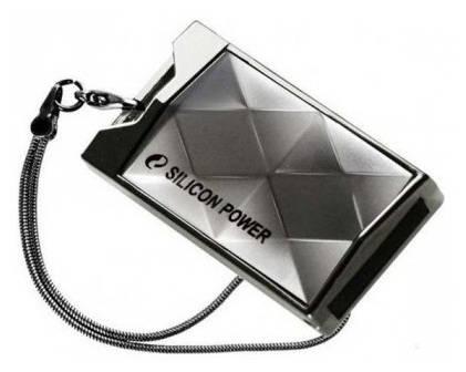 Флеш диск 64Gb Silicon Power Touch 850 USB2.0 серебристый - фото 1