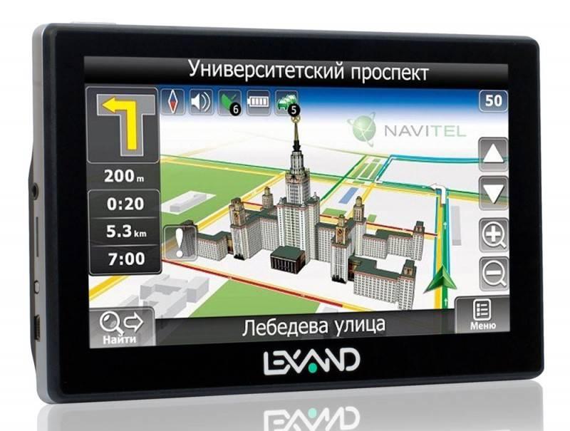 "GPS-навигатор Lexand STR-6100PRO HD 6"" черный - фото 1"