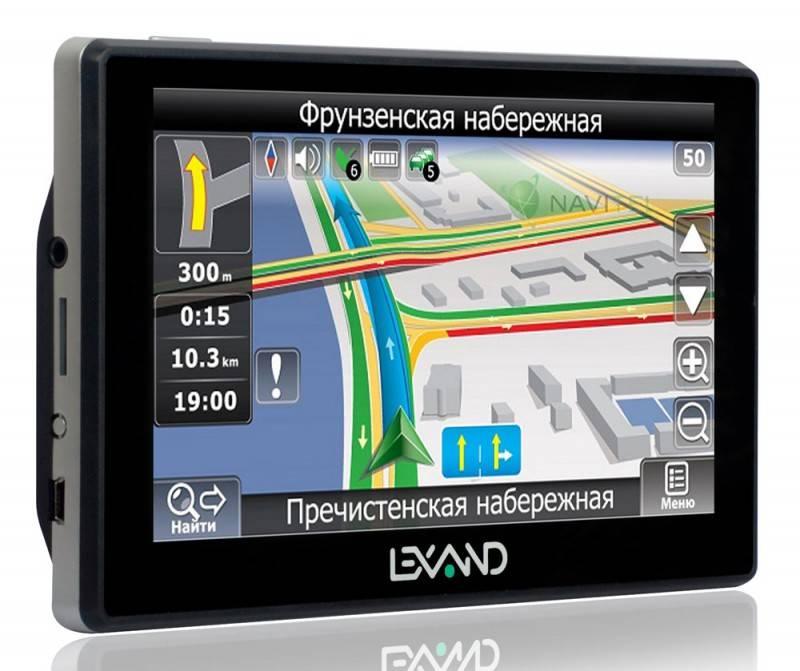 "GPS-навигатор Lexand STR-6100PRO HD 6"" черный - фото 2"