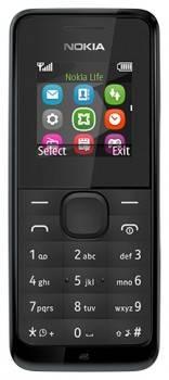 Мобильный телефон Nokia 105 черный (A00010803)