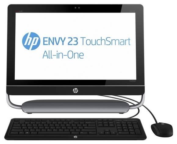 """Моноблок 23"""" HP Envy 23-d201er черный/серый - фото 1"""