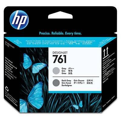 Картридж струйный HP 761 CH647A темно-серый/серый - фото 1