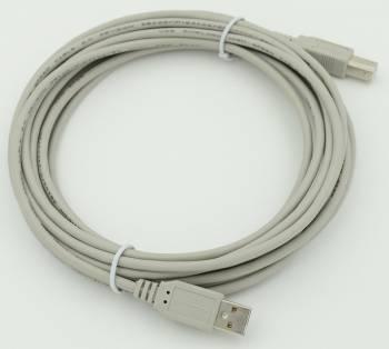 Кабель USB A(m)/USB B(m) 5м.
