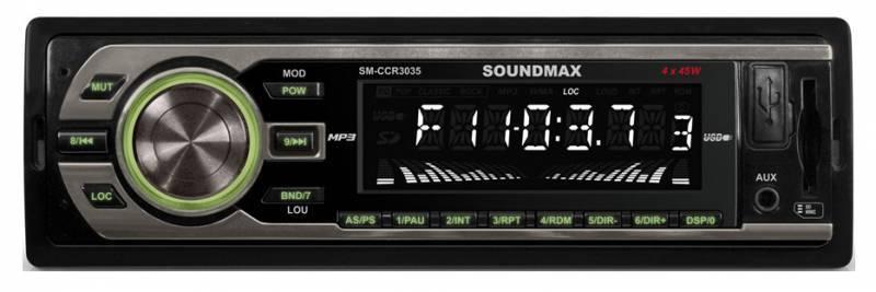 Автомагнитола Soundmax SM-CCR3035 - фото 1