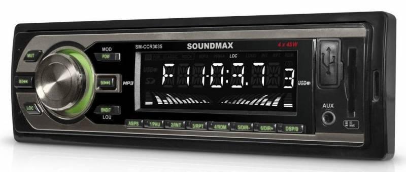 Автомагнитола Soundmax SM-CCR3035 - фото 2