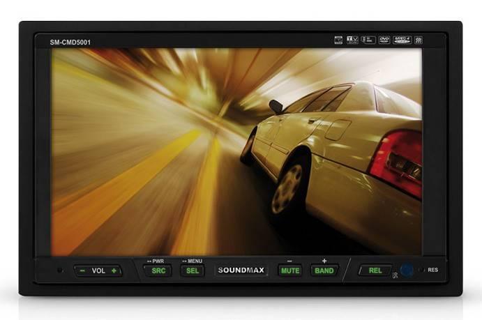 Автомагнитола Soundmax SM-CMMD6511G - фото 1