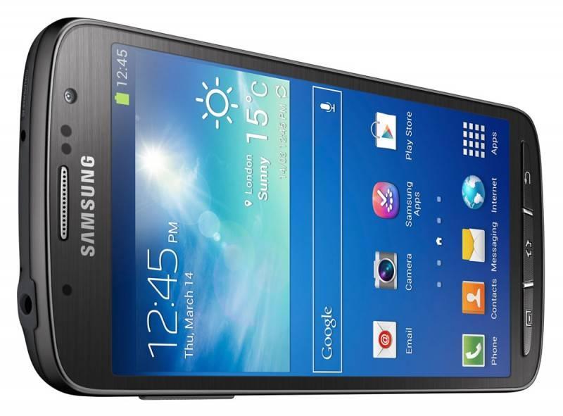 Смартфон Samsung Galaxy S4 Active GT-I9295 16ГБ серый - фото 9