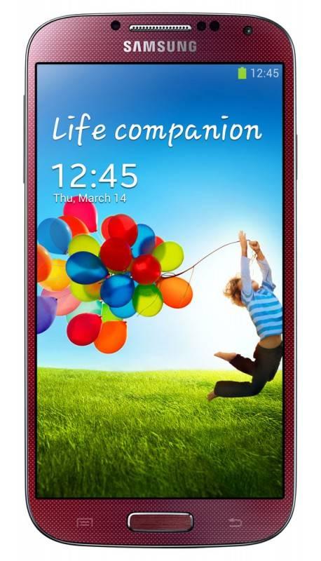 Смартфон Samsung Galaxy S4 GT-I9500 16ГБ красный - фото 1