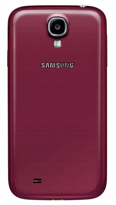 Смартфон Samsung Galaxy S4 GT-I9500 16ГБ красный - фото 2