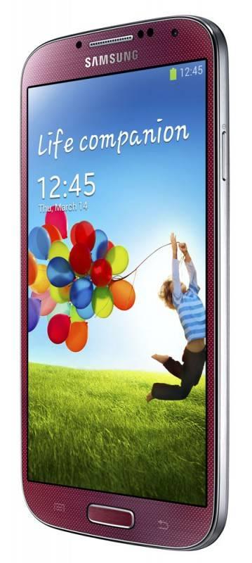 Смартфон Samsung Galaxy S4 GT-I9500 16ГБ красный - фото 3