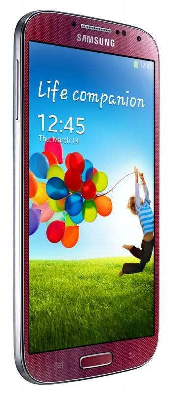 Смартфон Samsung Galaxy S4 GT-I9500 16ГБ красный - фото 4