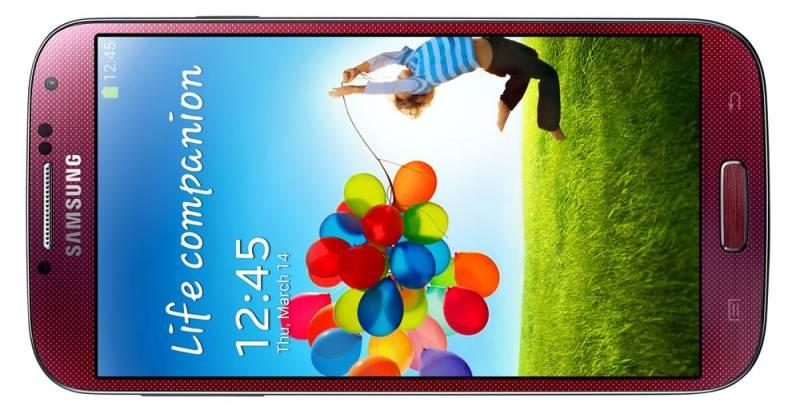 Смартфон Samsung Galaxy S4 GT-I9500 16ГБ красный - фото 5