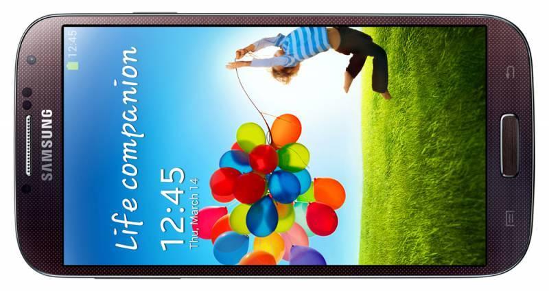 Смартфон Samsung Galaxy S4 GT-I9500 16ГБ коричневый - фото 4