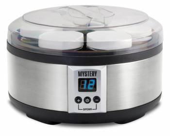 Йогуртница Mystery MYM-6001 серебристый/черный
