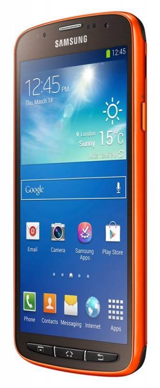 Смартфон Samsung Galaxy S4 Active GT-I9295 16ГБ оранжевый - фото 3