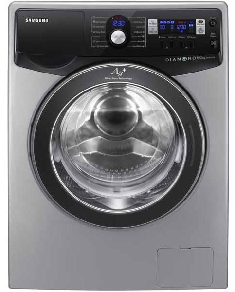 Стиральная машина Samsung WF1702XQR серебристый - фото 1