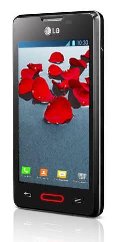 Смартфон LG Optimus L4 II E440 4ГБ черный - фото 2