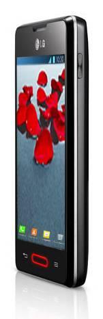 Смартфон LG Optimus L4 II E440 4ГБ черный - фото 3